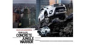 Toyota Hilux 2.4G Limited Edition nổi bật với ngoại hình mạnh mẽ