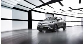 Toyota C-HR hoàn toàn mới được sản xuất tại Châu Âu